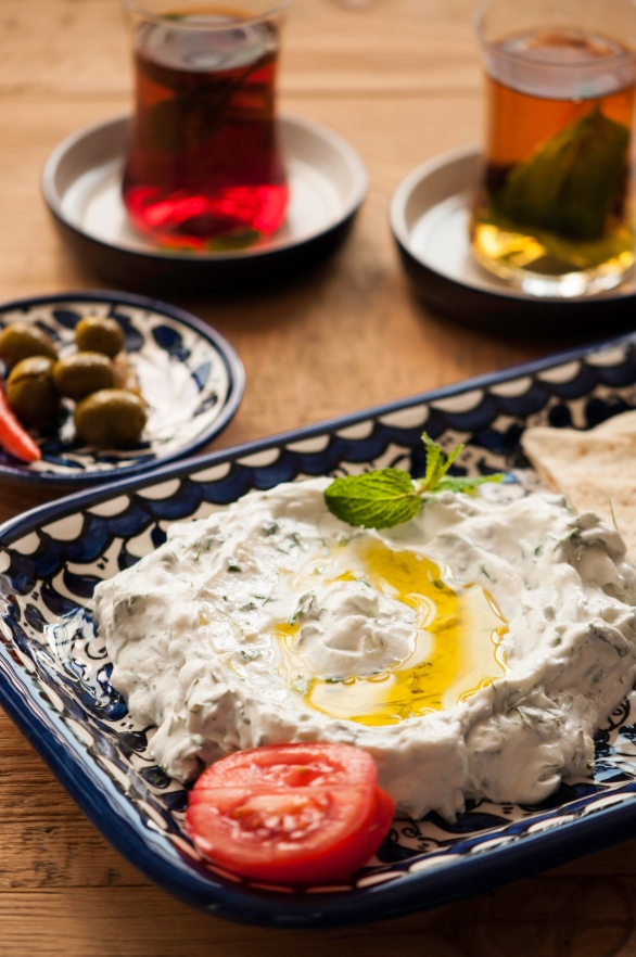 labneh with green herbs-0150
