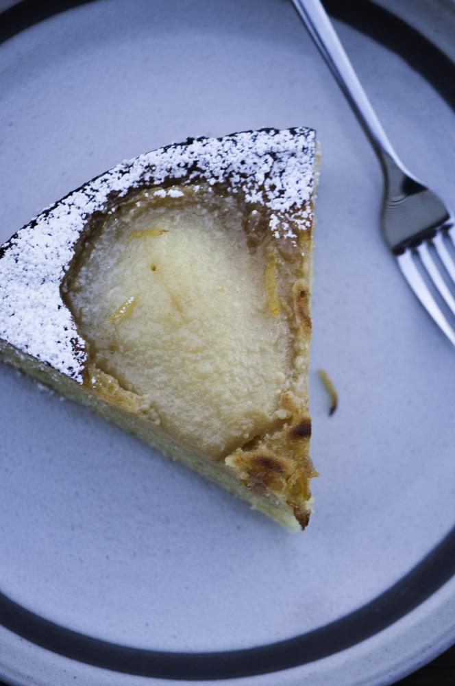 pear & almond tart0026